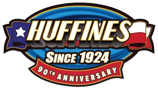 Huffines 90th Anniversary Logo
