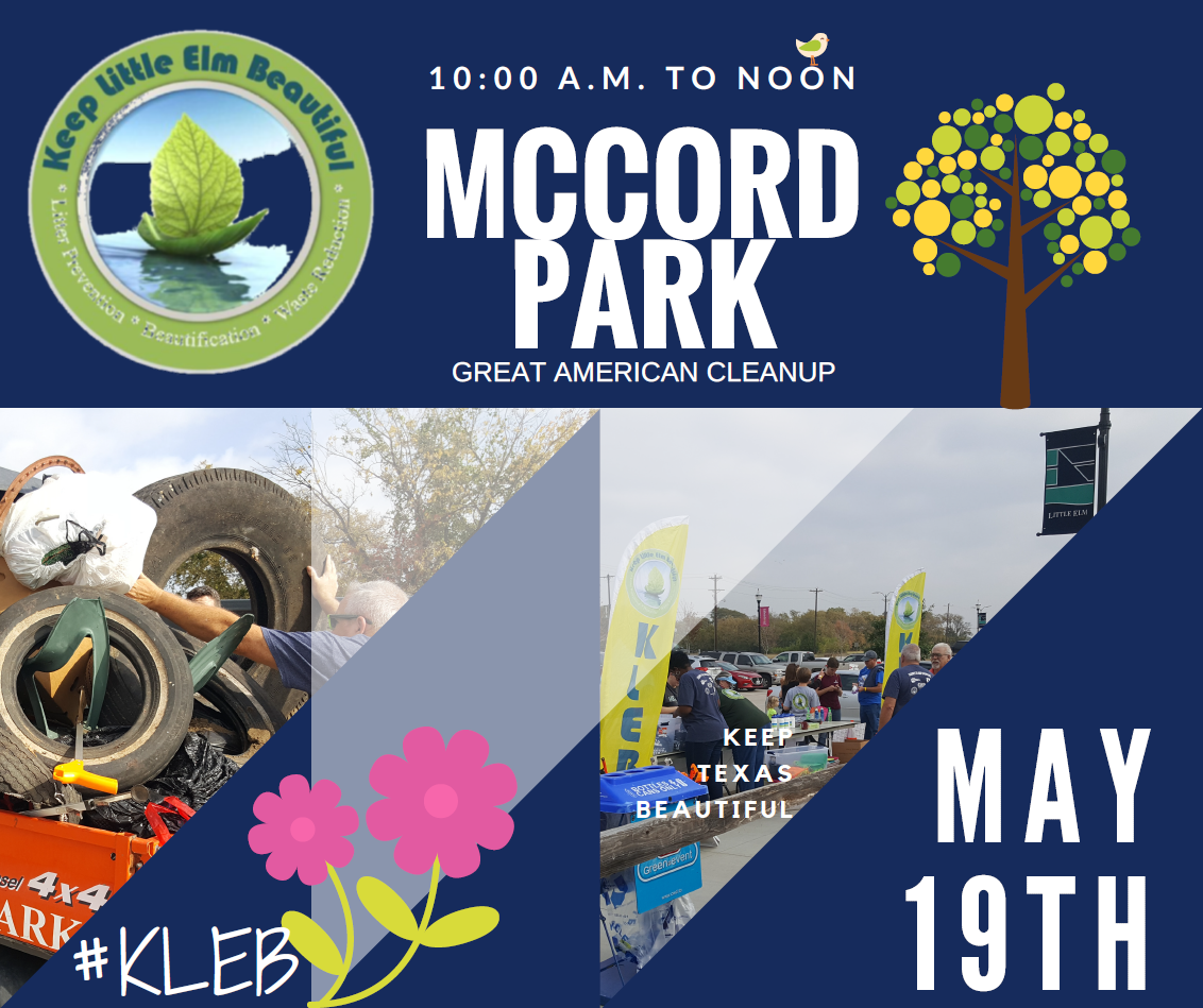 Great American Cleanup at McCord May 19