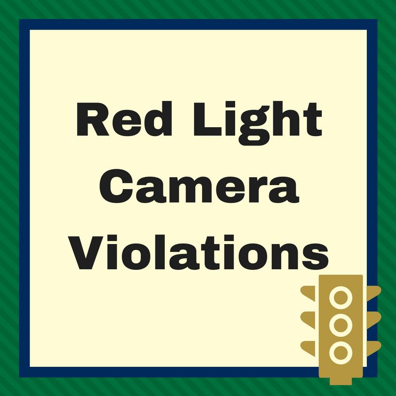 Red Light Camera Violations