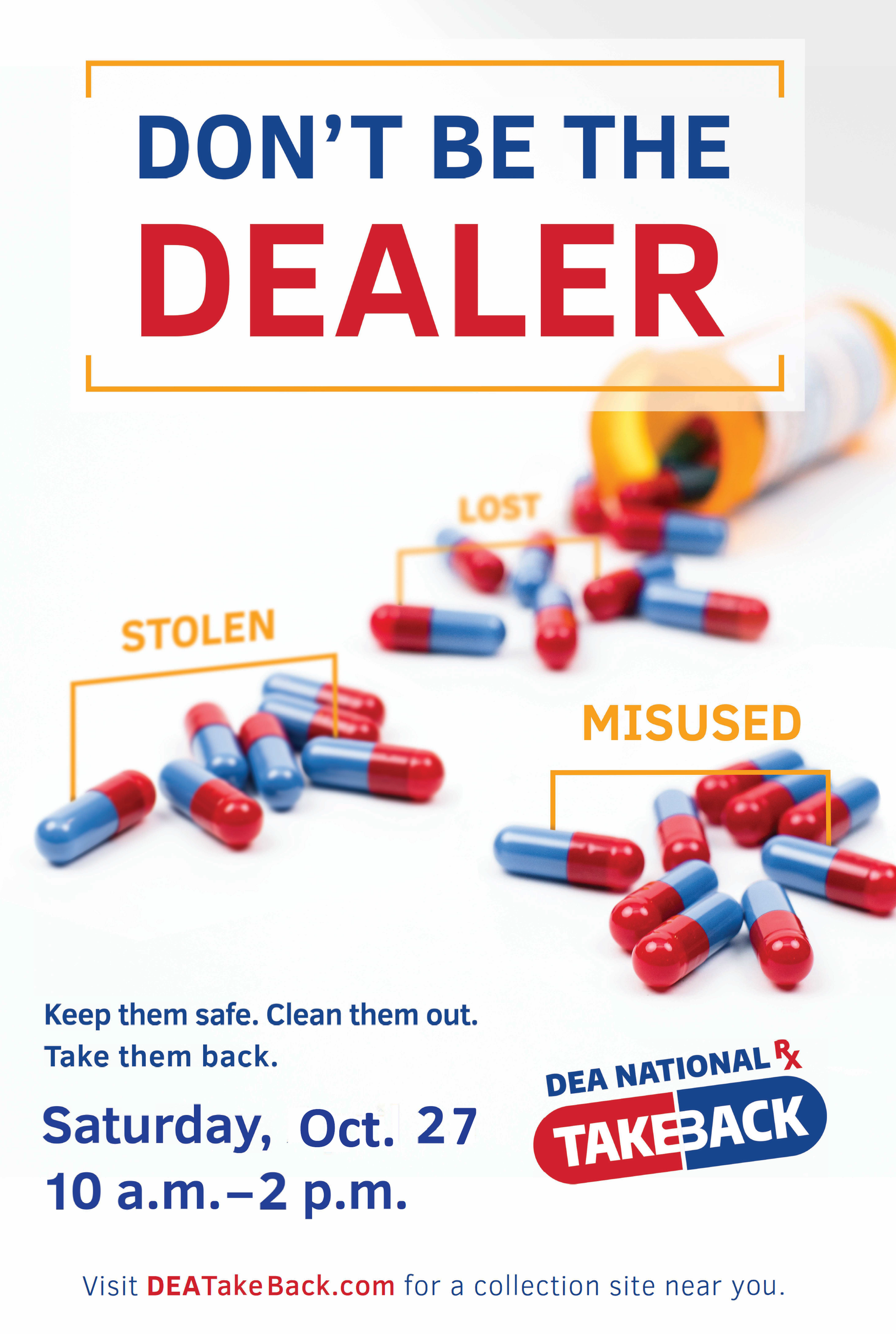 Drug take back Oct 27