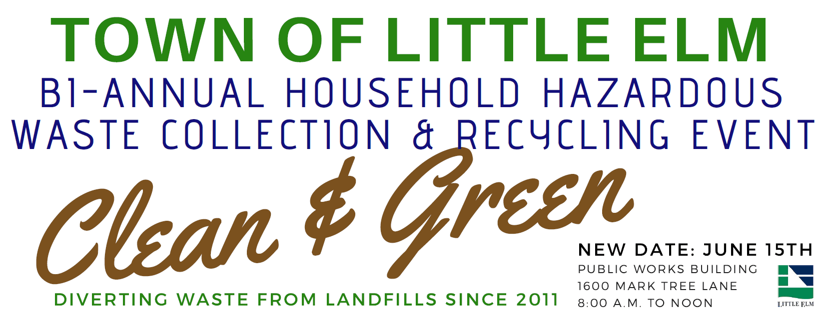 Specialty Recycling and HHW Disposal Opportunities | Town of Little
