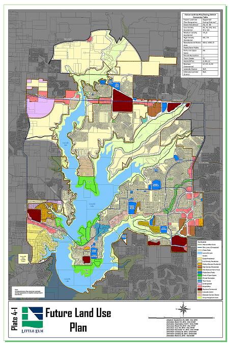 Planning Maps Town Of Little Elm TX Official Website - Map tx